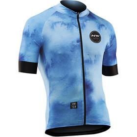 Northwave Iceland Bike Jersey Shortsleeve Men blue